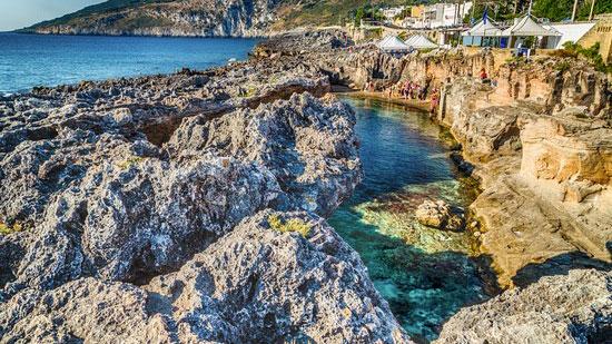 Tenuta linazza b b ristorante frantoio - Marina serra piscina naturale ...